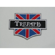 Triumph Brand of Motorcycle Iron on Patch Great Gift for Men and woman by KLB TRADE