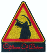 Children of Bodom - Triangle Reaper - Embroidered Iron On Patch
