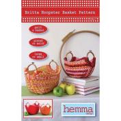 Hemma Design Patterns-Britta Hoopster Basket