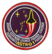 STS-35 (COLUMBIA) MISSION PATCH 10cm