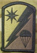 82nd Sustainment Brigade OCP Multicam Patch