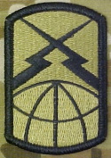 160th Signal Brigade OCP Multicam (TM) Patch
