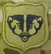 Wisconsin Army National Guard OCP Multicam Patch