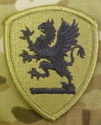 Michigan Army National Guard OCP Multicam Patch