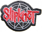 7.6cm x 5.7cm SlipKnot Duality Heavy Metal Rockabilly Rock Punk Music Band Logo jacket T-shirt Patch Iron on Embroidered Sign music patch by Tourlesjours