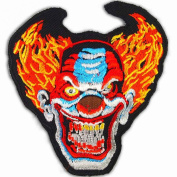 BOZO BIKER JACKET RIDER VEST Embroidered Iron On Patches