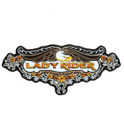 Hot Leathers Lace Eagle Lady Rider Patch