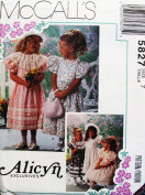 McCall's Sewing Pattern 5827 (size 7) Children's / Girls Dress ~ Alicyn Exclusives