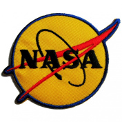 NASA Logos Iron on Patches #Yellow