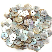 Lot 100 Mother of Pearl Flower Shell Sewing Button 15mm HOT