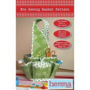 Hemma Design Eva Sewing Basket Ptrn