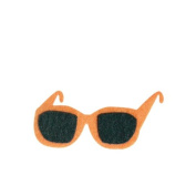 Sunglasses DIY Applique Printed Felt Iron on Patch