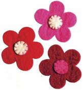 WooLaLa Embellished Flowers- Peony/Red/Rose