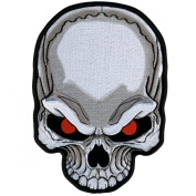 Hot Leathers Skull Eyes Patch
