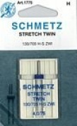 Schmetz Stretch Twin Sz. 4.0/75
