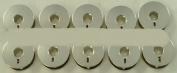 Generic Metal L 10 Pack of Bobbins