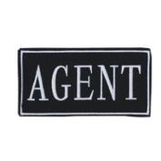 Law Enforcement Patches- AGENT