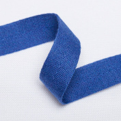Neotrims Soft Herringbone Weave Cotton Trimming Ribbon, Dressmaking Craft Border. 21 Wonderful Colour Options Available. 16mm Wide, It's Beautiful & Great Drape!
