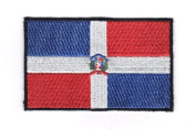Dominican Republic Embroidered Country Flag Patch