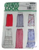 New Look Sewing Pattern 6953 Misses Skirts Size 8-18