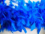 2 Yard Royal Blue Chandelle Feather Boa 60 Grammes