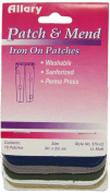 Allary Patch & Mend, Iron On Patches, 10 Multi Colours, Model #370-02