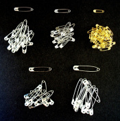 BRAND NEW PACK 120 pc ASSORTED SIZE SAFETY PINS Sewing Art Craft Quilting