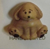 "Dianna's Dogs Puppy ""Sitting"" Buttons Streamline K3681"