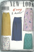 New Look 6762A Sewing Pattern Misses 2 Hour Skirts Size 8-18