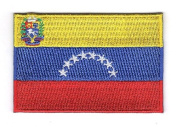 Venezuela Embroidered National Country Team Iron on Flag Patch