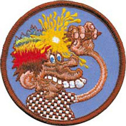 Grateful Dead Garcia Patch - 7.6cm Ice Cream Cone Kid