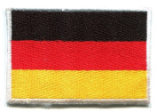 National Flag of Germany German Applique Iron-on Patch Small New S-96 Made of Thailand