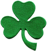 3 Leaf Clover St. Patrick's Day Irish Shamrock Three Applique Iron-on Patch S770 Made of Thailand
