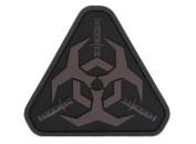 """Mil-Spec Monkey """"Outbreak Response Team"""" PVC hook and loop Patch - Dark Ops"""