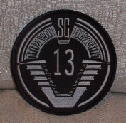 Stargate SG-1 Group 13 Stargate Travellers Logo PATCH