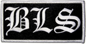 Black Label Society Bls Monogram Embroidered Patch