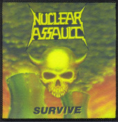 NUCLEAR ASSAULT-SURVIVE-SUBLIMATION PATCH