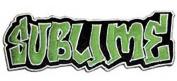 Sublime Music Band Patch - Green Graffiti Name Logo