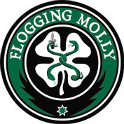 Flogging Molly Music Band Patch - Shamrock Logo - Applique