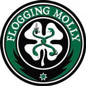 Flogging Molly Music Band Patch - Shamrock Logo - Applique