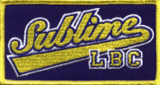 Sublime Music Band Patch - Baseball Name Logo