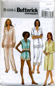 Butterick Pyjamas, Top, Nightshirt, Panties and Pants Sewing Pattern #B4084