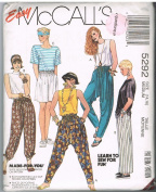 Easy McCall's 5292 Pants and T Shirts