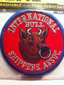 "Embroidered Patch ""International Bull Shippers Assoc."""