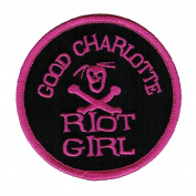 Good Charlotte Riot Girl Embroidered Patch
