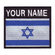 Israel Custom Badge Flag Name Embroidered Sew On Patch
