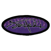 Jimi Hendrix Signature Embroidered Patch