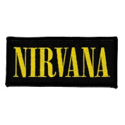 Nirvana Logo Embroidered Patch