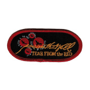 Poison The Well Tear From The Red Embroidered Patch