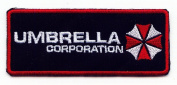 Resident Evil Umbrella Corporation Gestickte Patches 8.5x3.5 Cm Sew/iron on Patch to Cloth, Jacket, Jean, Cap, T-shirt and Etc.